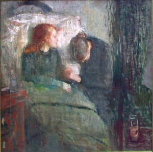 Munch-La bambina malata-1885-Oslo