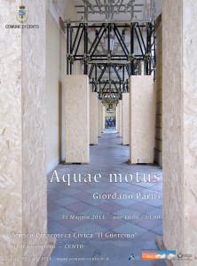 Locandina Aquae Motus - Leggera